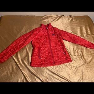 Patagonia Goosedown Jacket Women's xl Red